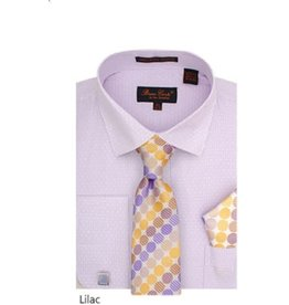 Bruno Conte Bruno Conte Shirt Set CS076 Lilac
