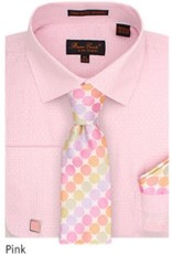 Bruno Conte Bruno Conte Shirt Set CS076 Pink