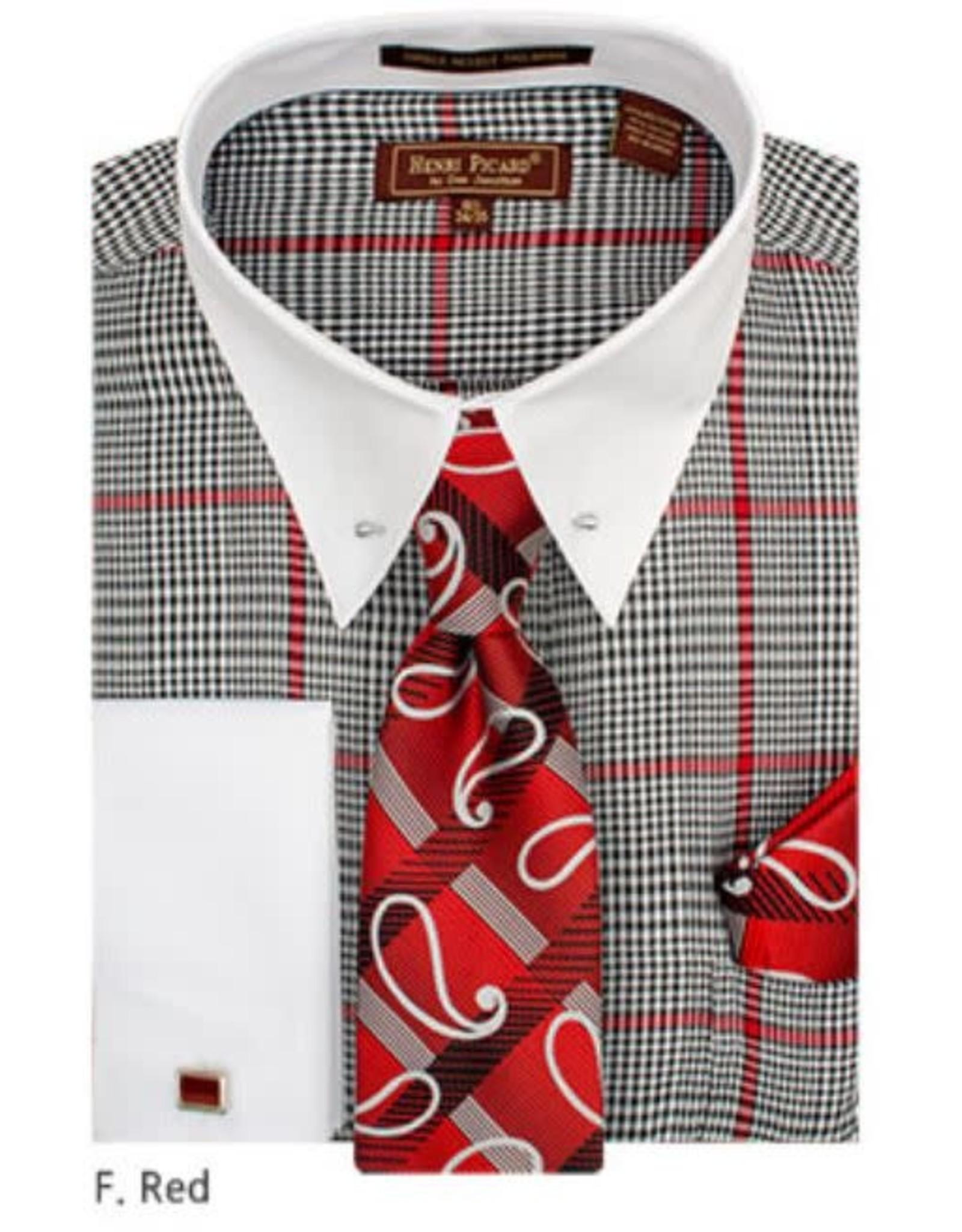 Henri Picard Henri Picard Shirt Set FC173 Red