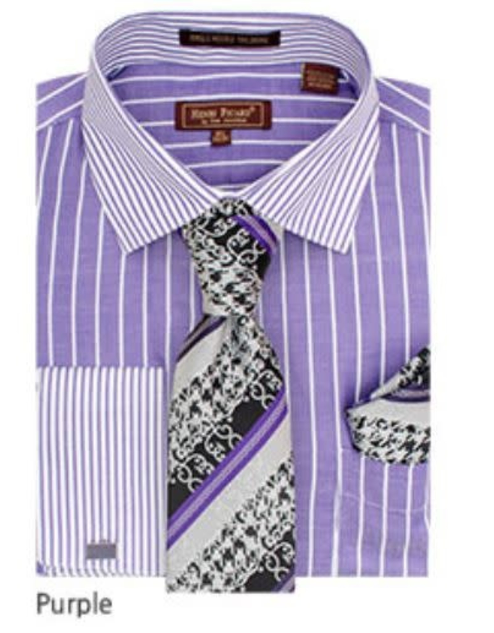 Henri Picard Henri Picard Shirt Set FC177 Purple