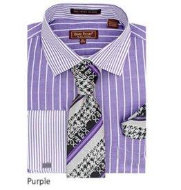 Henri Picard Henri Picard Shirt Set FC177 Purple