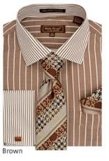 Henri Picard Henri Picard Shirt Set FC177 Brown