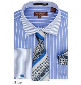 Henri Picard Henri Picard Shirt Set FC177 Blue