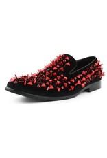 Amali Amali Apache Formal Shoe - Red/Black