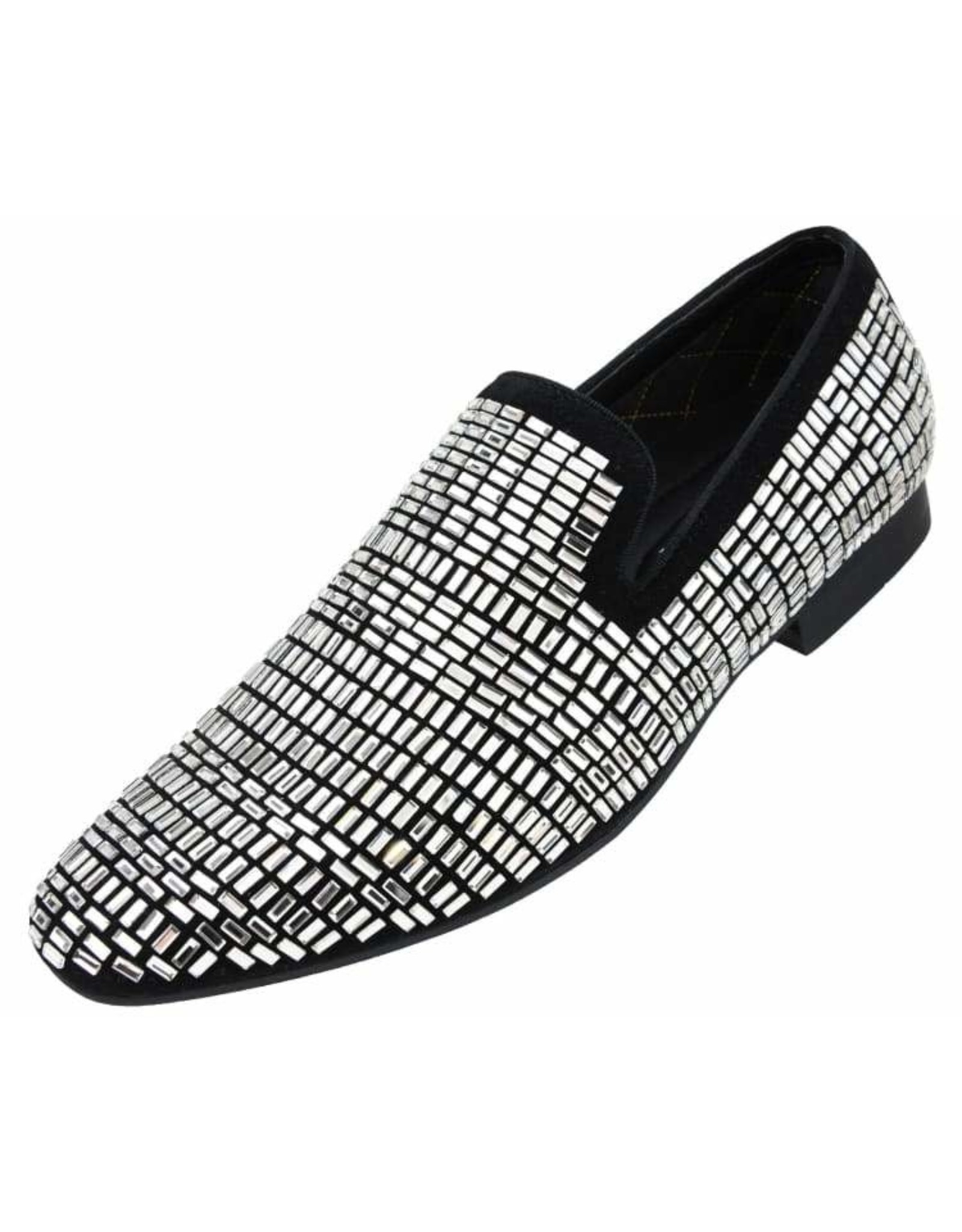 Amali Amali Trimble Formal Shoe - Black/Silver
