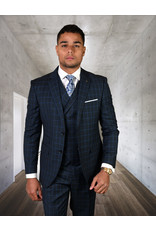 "Statement Statement ""Angel"" Vested Suit - Blue"