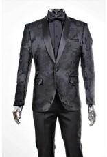 Retro Paris Retro Paris Slim Blazer & Pant - 540/01 Black