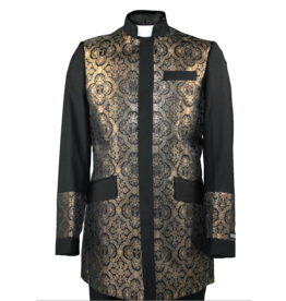 Royal Diamond Church Jacket - Black/Gold