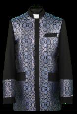 Royal Diamond Church Jacket - Black/Royal