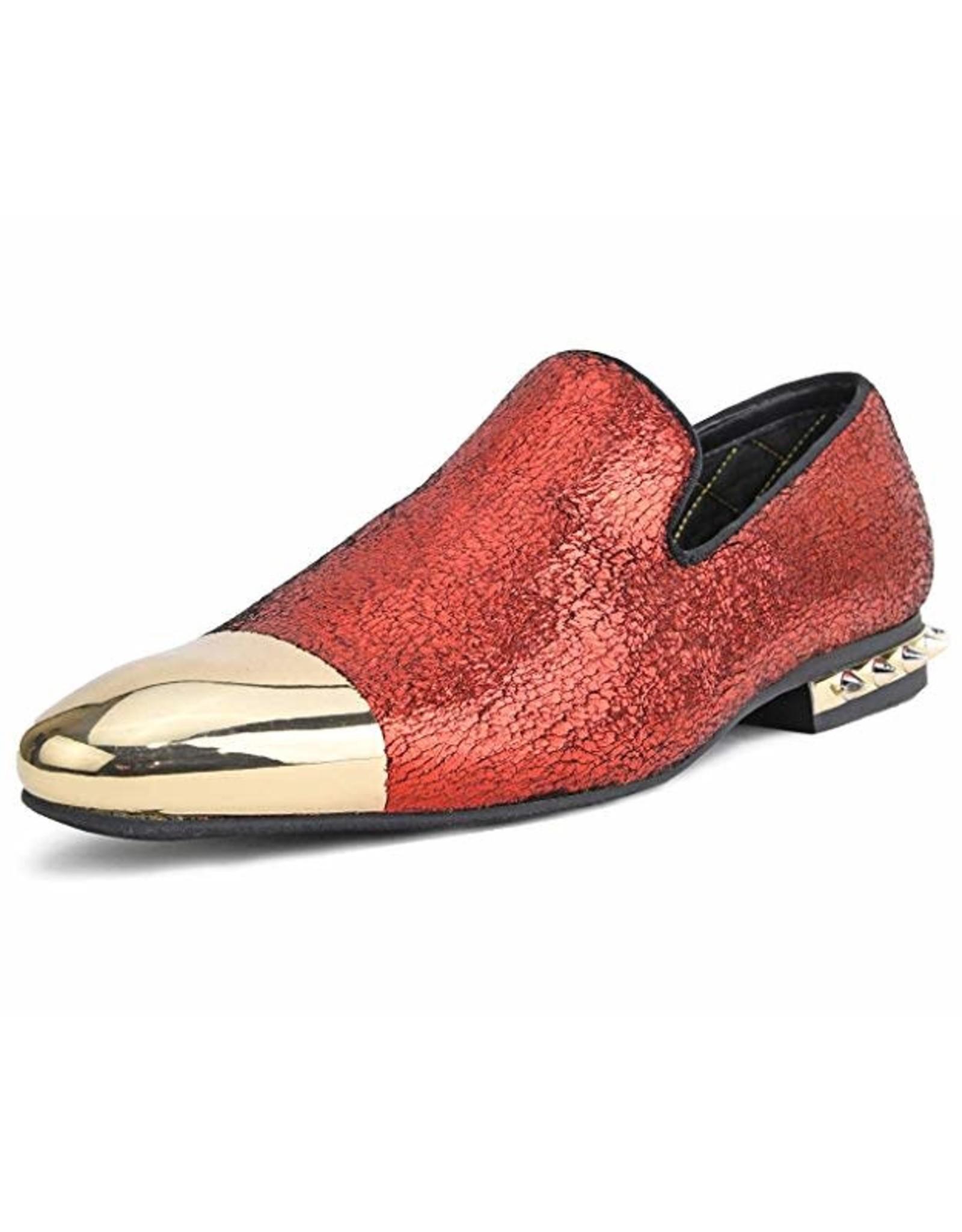 Amali Amali Axel Formal Shoe - Red/Gold