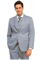 Vitali Vitali Vested Suit - M4111 Powder Blue