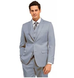 Vitali Vitali Vested Suit - M4111 Powder Blue
