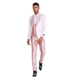 Tazio Tazio Slim Fit Suit - M297SK/2 Pink