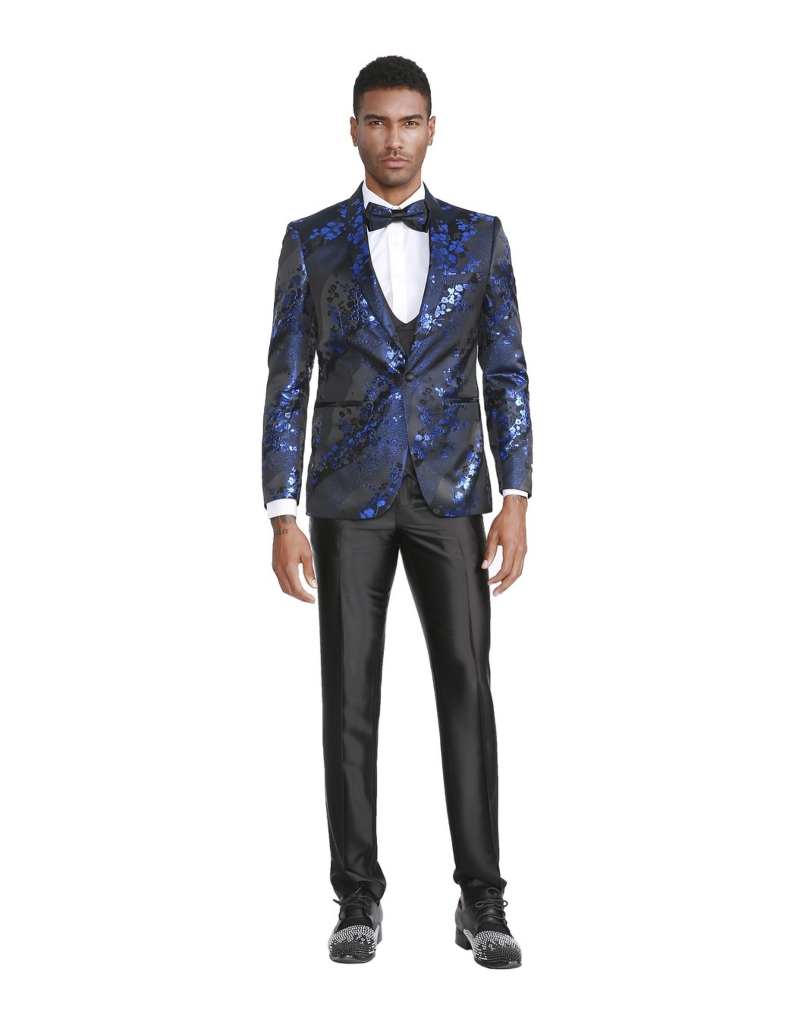 Tazio Tazio Slim Fit Suit - M299SK/1 Royal