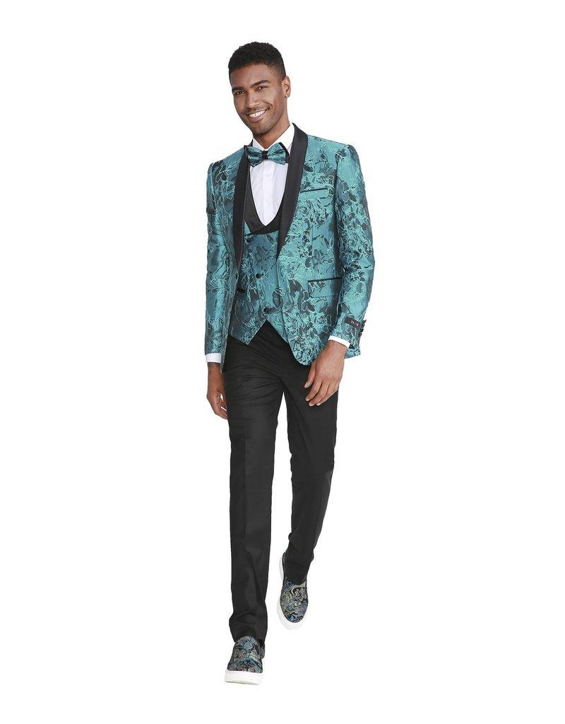 Tazio Tazio Slim Fit Suit - M305SK/01 Turquoise