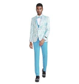 Tazio Tazio Slim Fit Suit - M306SK/1 Sky