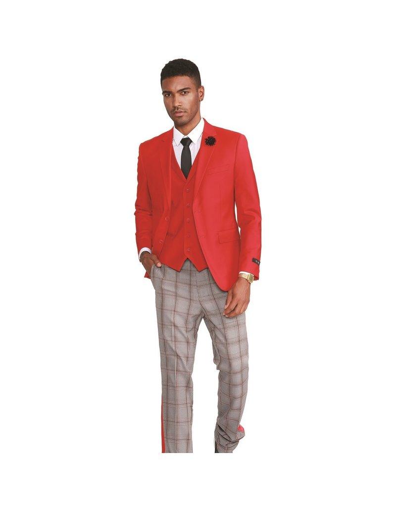 Tazio Tazio Slim Fit Suit - M320SK/03 Red