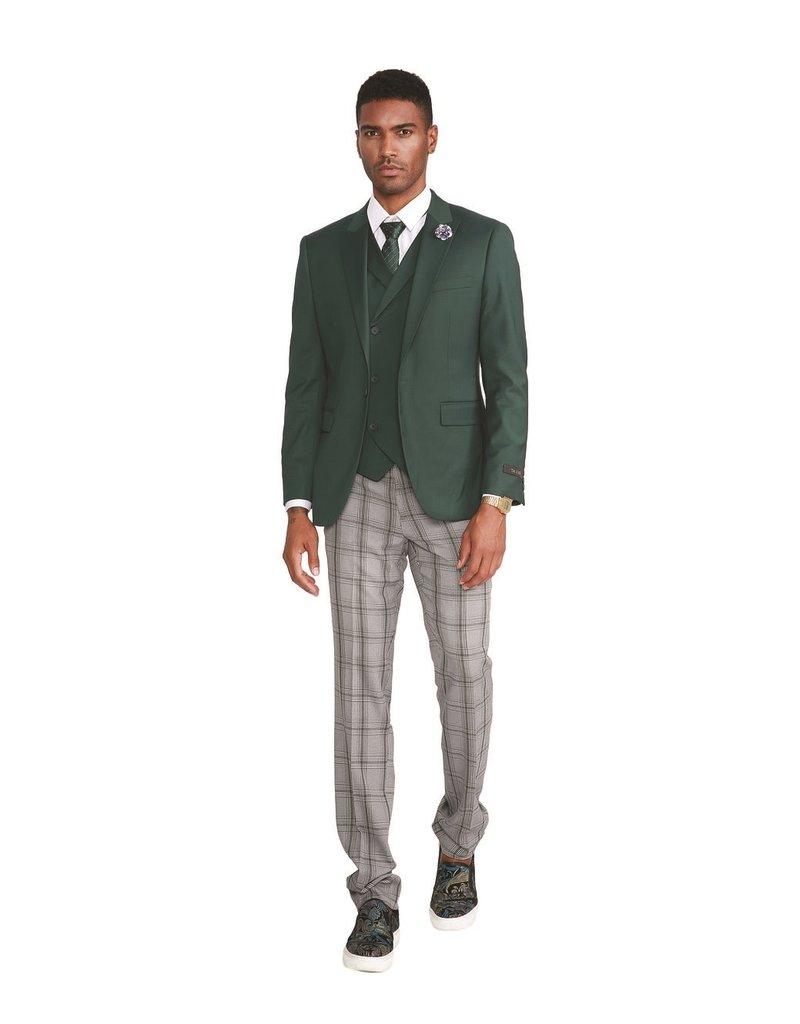 Tazio Tazio Slim Fit Suit - M322SK/3 Green