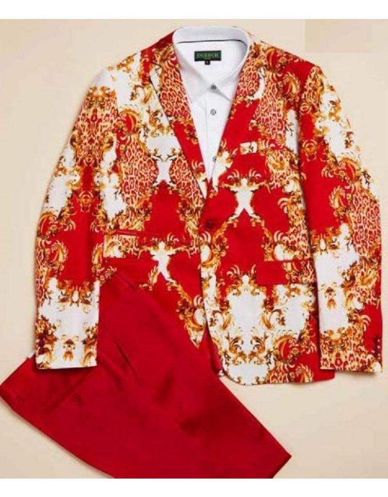 Inserch Inserch Slim Fit Blazer - 549B Red