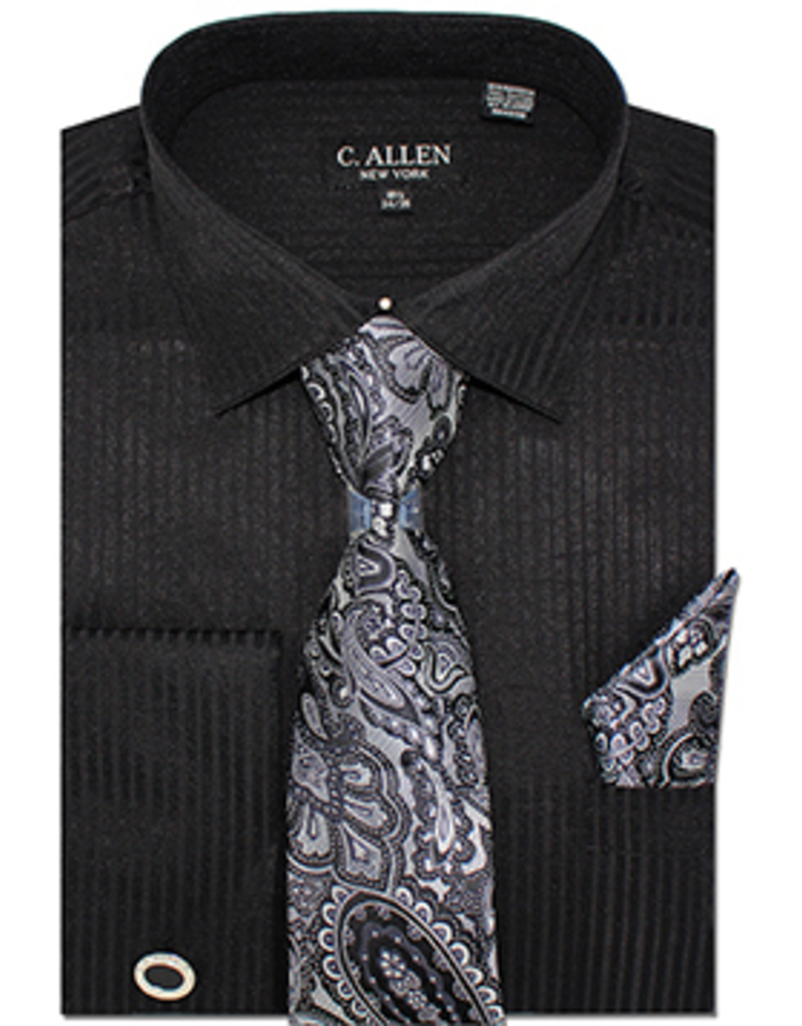 C. Allen C. Allen Shirt Set - JM211 Black