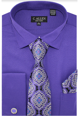 C. Allen C. Allen Shirt Set - JM212 Purple