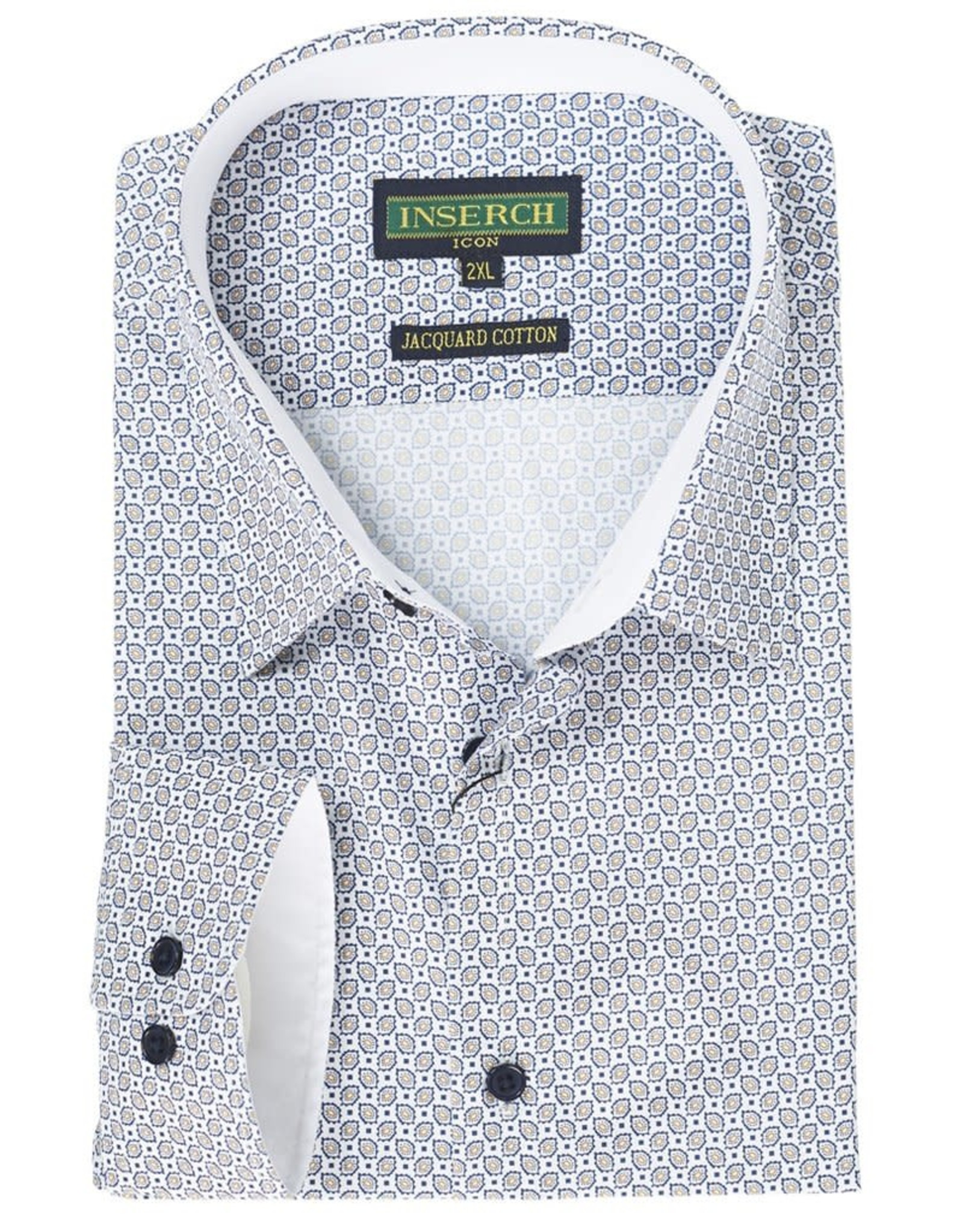 Inserch Inserch Paisley Shirt - 2325 White