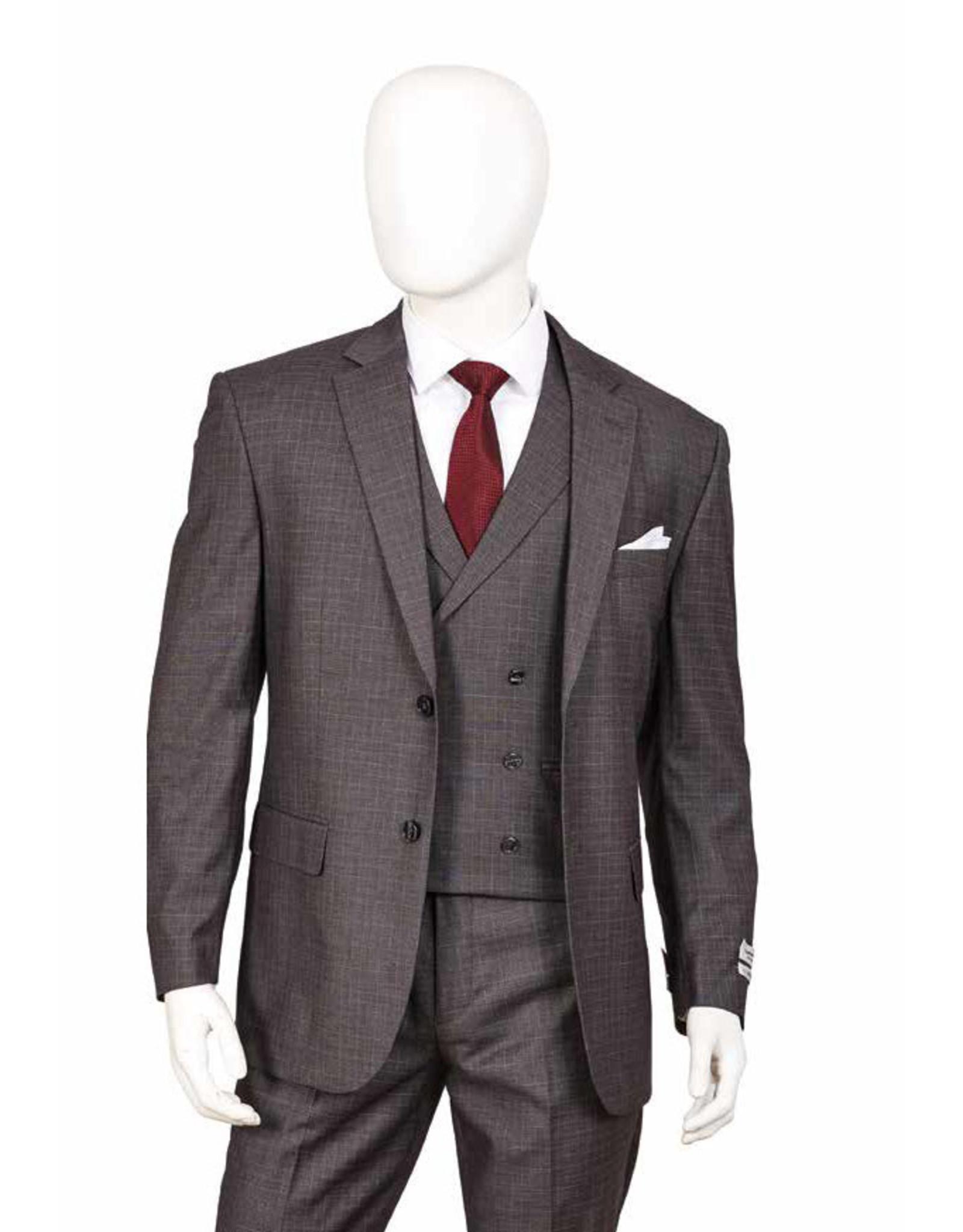 Lorenzo Bruno Lorenzo Bruno Vested Suit - F62SQ Gray