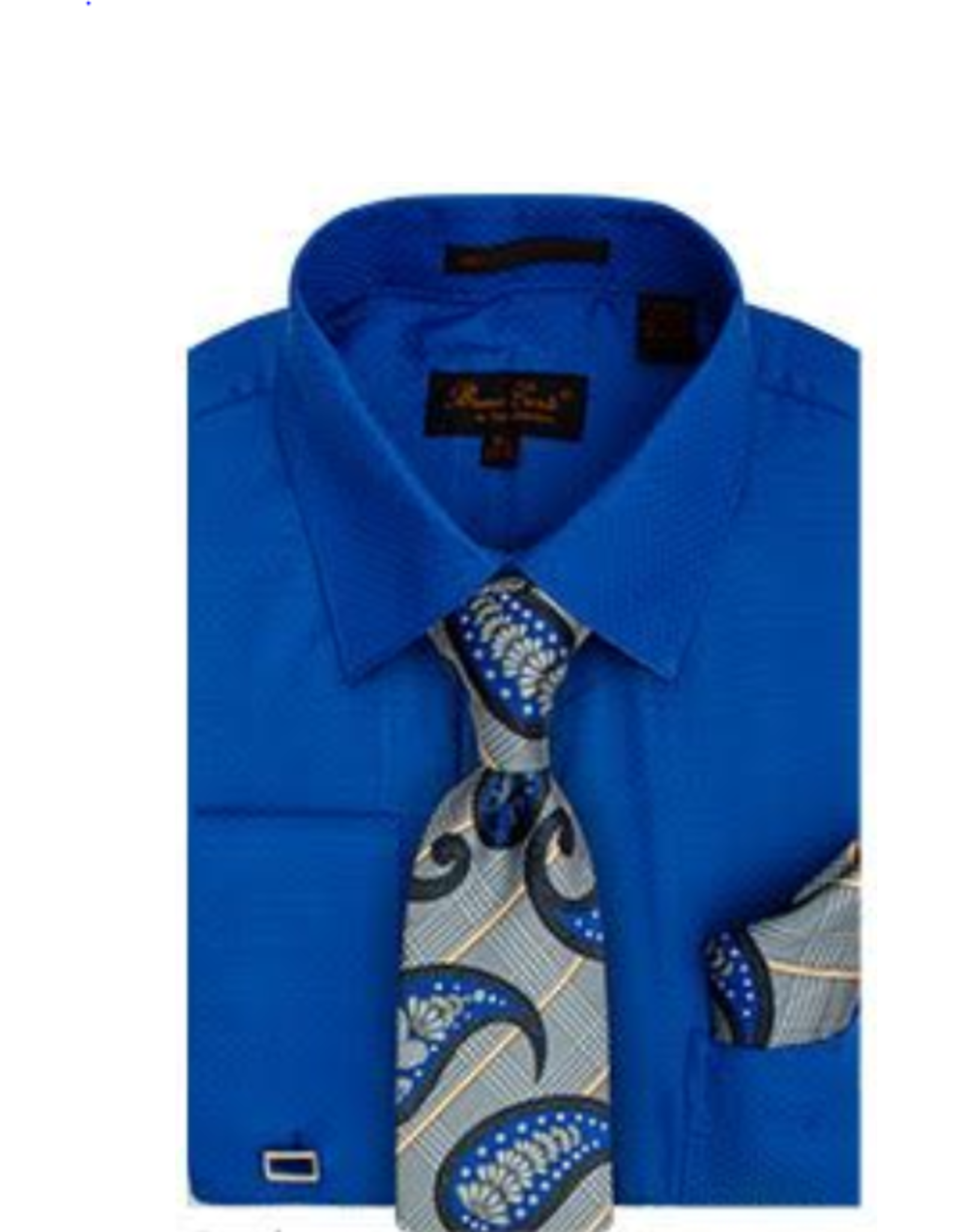 Henri Picard Henri Picard Shirt Set BC1082 Royal