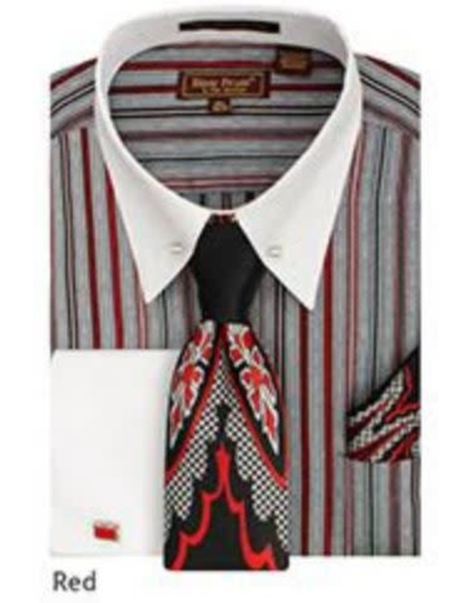 Henri Picard Henri Picard Shirt Set FC171 Red