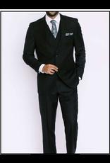 Mazzari Mazzari Vested Suit - 6100S Black