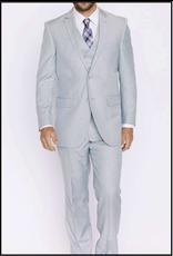 Mazzari Mazzari Vested Suit - 6100S Silver