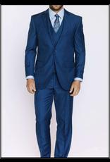 Mazzari Mazzari Vested Suit - 6100S Blue