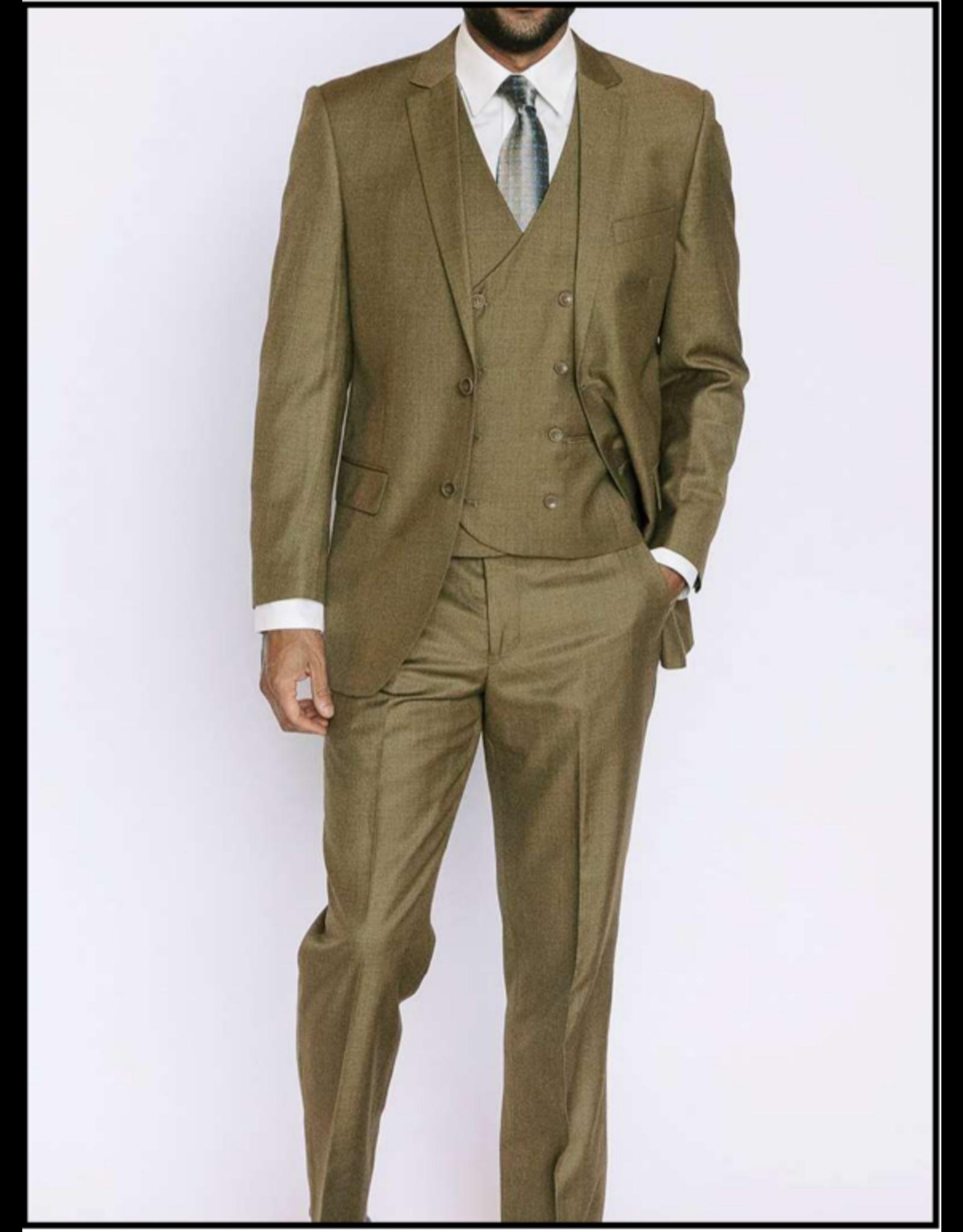 Mazzari Mazzari Vested Suit - 6100S Mustard