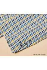 Inserch Inserch Blazer - BL524 Blue/Yellow Plaid
