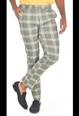 Barabas Barabas Slim Fit Pant - CP89 Gray Yellow