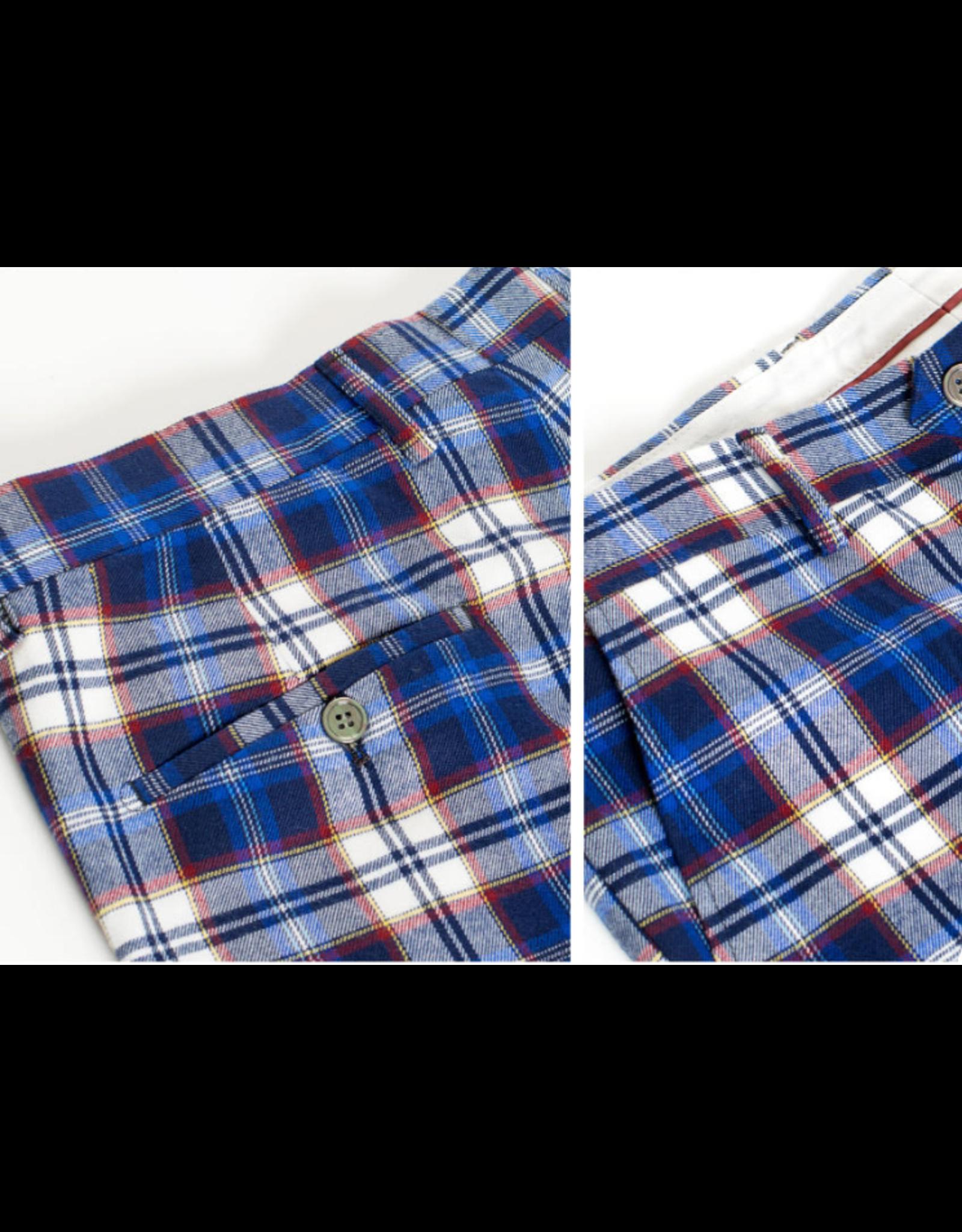 Barabas Barabas Slim Fit Pant - CP46 Blue/White