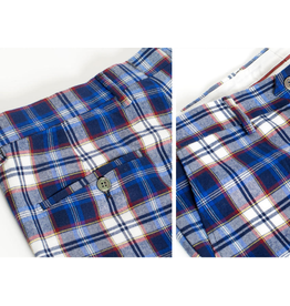 Barabas Barabas Slim Fit Pant - CP46 Blue/White