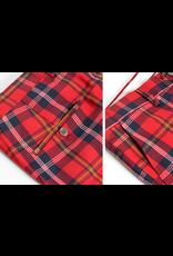 Barabas Barabas Slim Fit Pant - CP48 Red/White