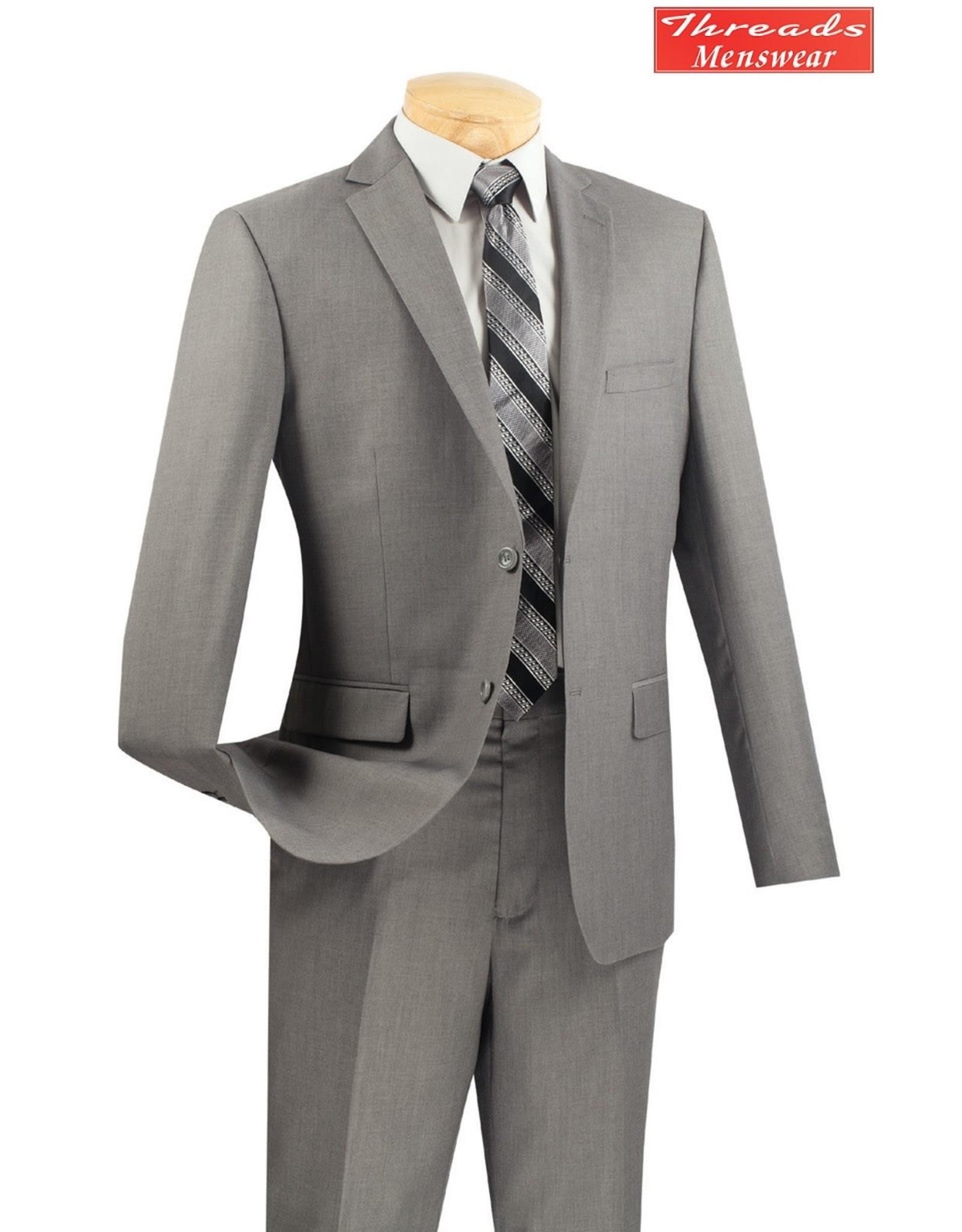 Vinci Vinci Ultra Slim Suit Gray US900-1