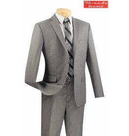 Vinci Vinci Ultra Slim Suit Gray US900-1