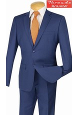 Vinci Vinci Ultra Slim Suit Indigo US900-1