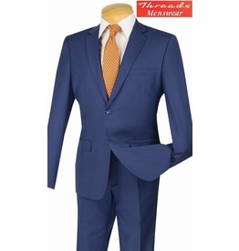 Vinci Vinci Ultra Slim Suit Indigo US900-1