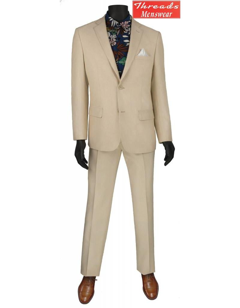 Vinci Vinci Slim Suit S2RK-8 Beige