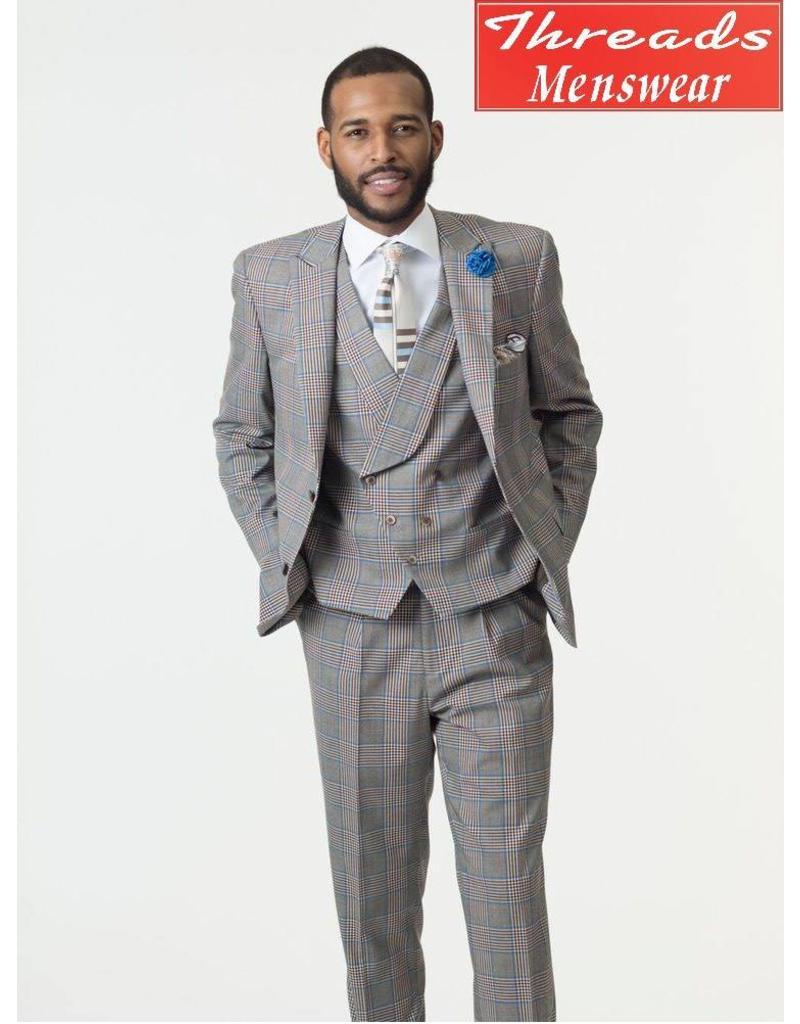 EJ Samuel EJ Samuel Suit M2710 Gray