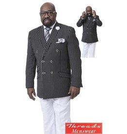 EJ Samuel EJ Samuel Double Breast Suit - M2707
