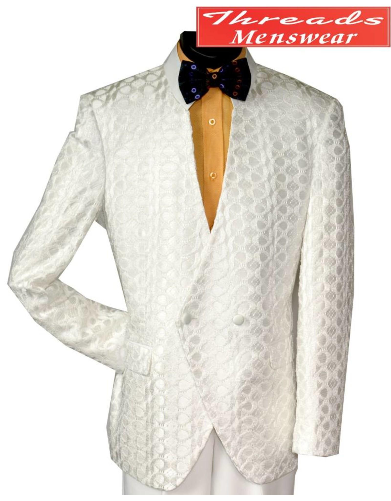Blu Martini Blu Martini Mandarin Collar Suit - Dandi