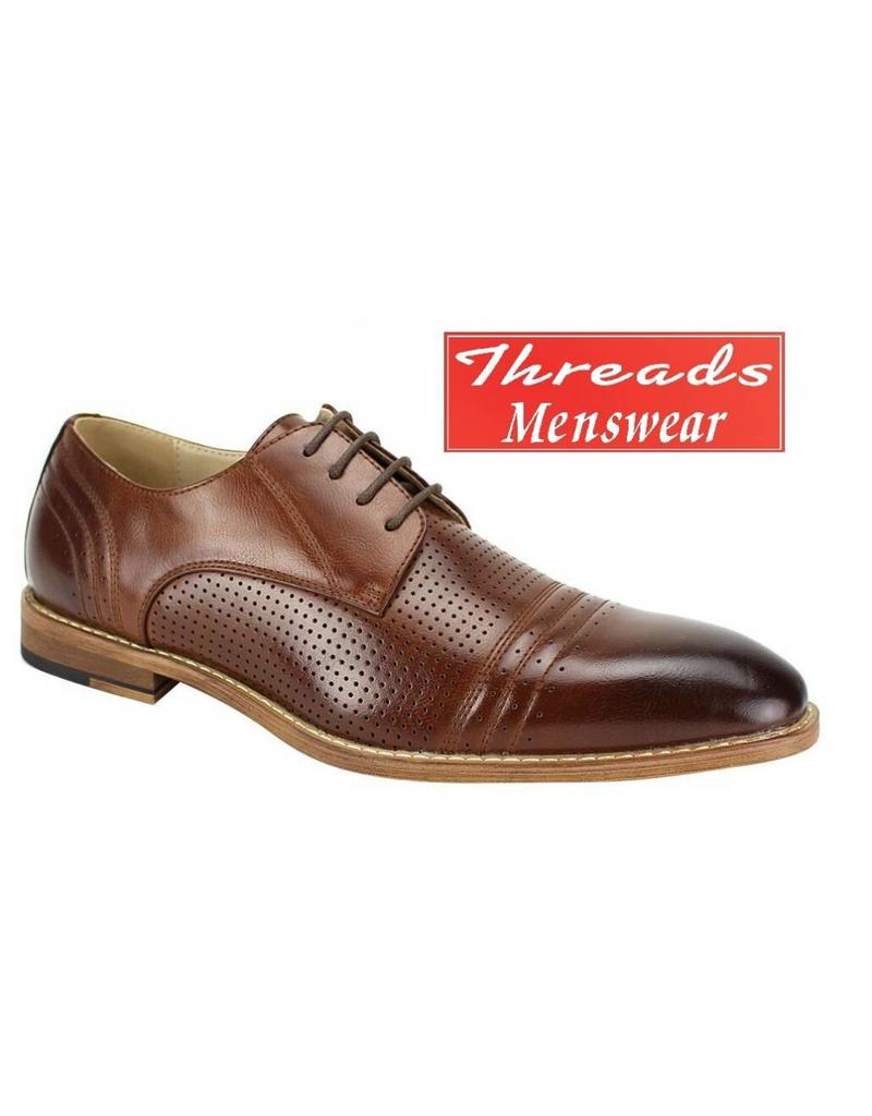 Antonio Cerrelli Antonio Cerrelli Dress Shoe 6737 Cognac