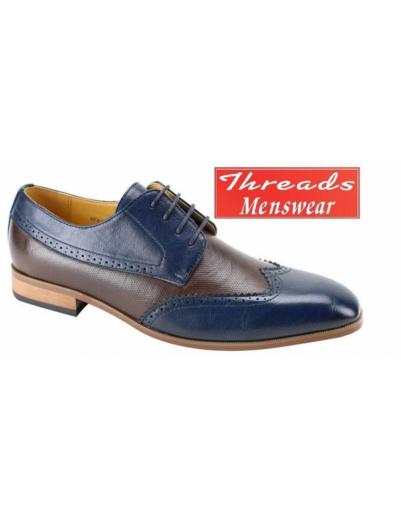 Antonio Cerrelli Antonio Cerrelli 6764 Dress Shoe - Navy/Brown