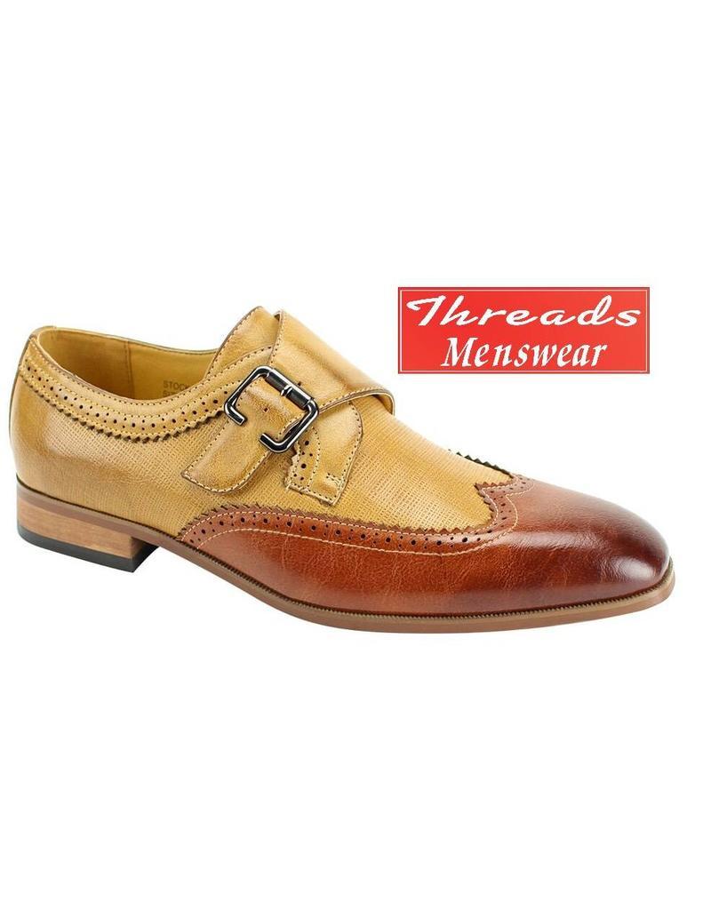 Antonio Cerrelli Antonio Cerrelli Dress Shoe 6763 Cognac/Scotch
