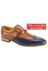 Antonio Cerrelli Antonio Cerrelli Dress Shoe 6763 Navy/Cognac